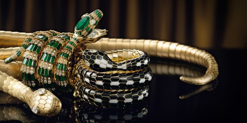 All images part of the Bulgari Serpenti collection