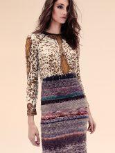 Dress, EMILIO PUCCI | Skirt, CALVIN KLEIN