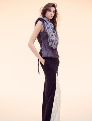 Vest and skirt, MAISON MARTIN MARGIEL