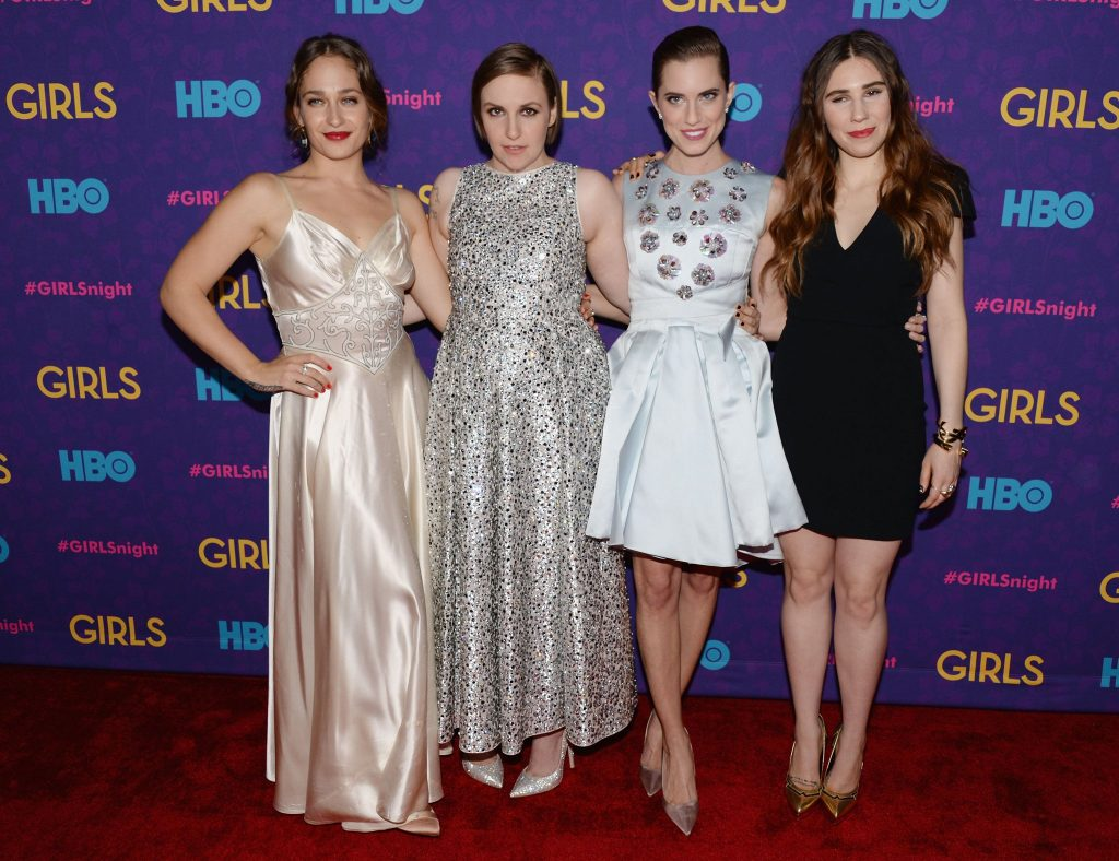 The cast of Girls, image courtesy of Andrew H. Walker at Getty Images