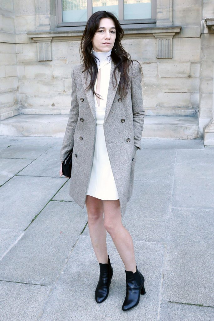 Charlotte Gainsbourg attending the Louis Vuitton Autumn/Winter 2014 show
