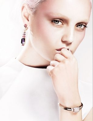 Musa collection bracelet and earrings, BVLGARI