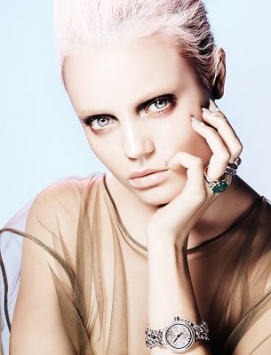 Catene collection watch | High jewellery and Serpenti rings, BVLGARI