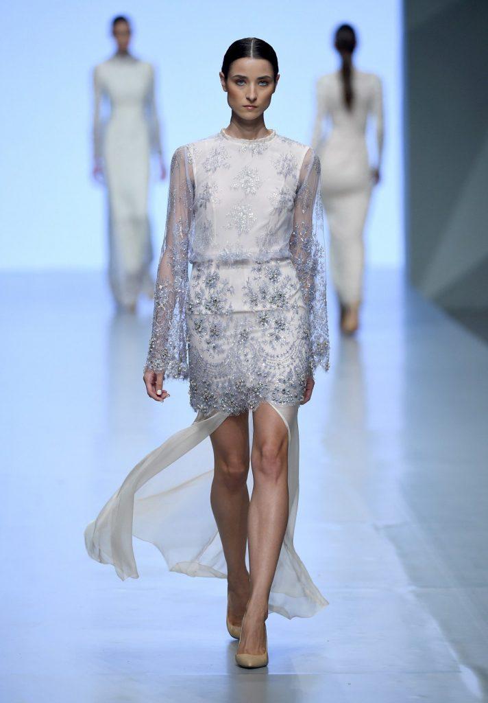 Fashion Forward, Madiyah Al Sharqi SS15, photography by Ian Gavan/Getty Images.