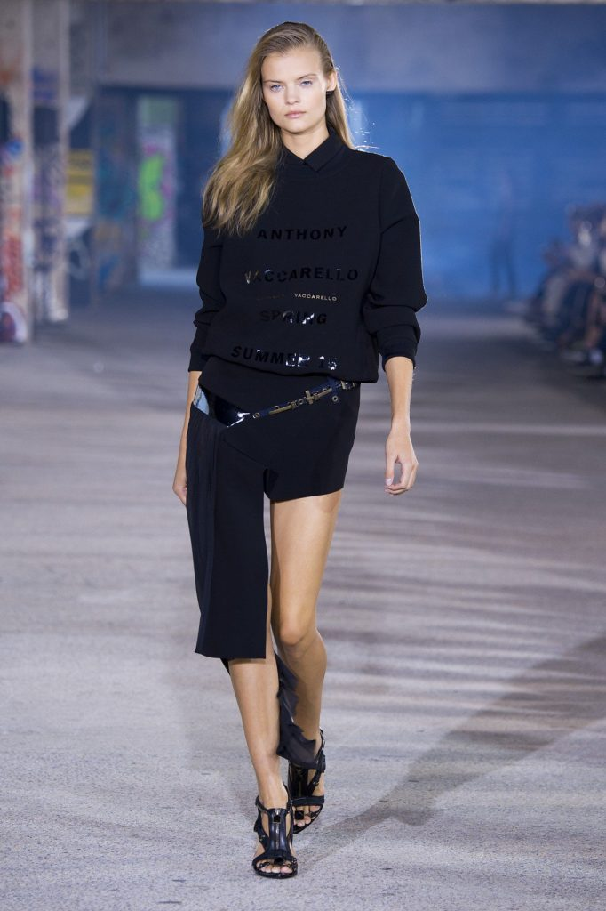 Anthony Vaccarello, spring/summer 2015