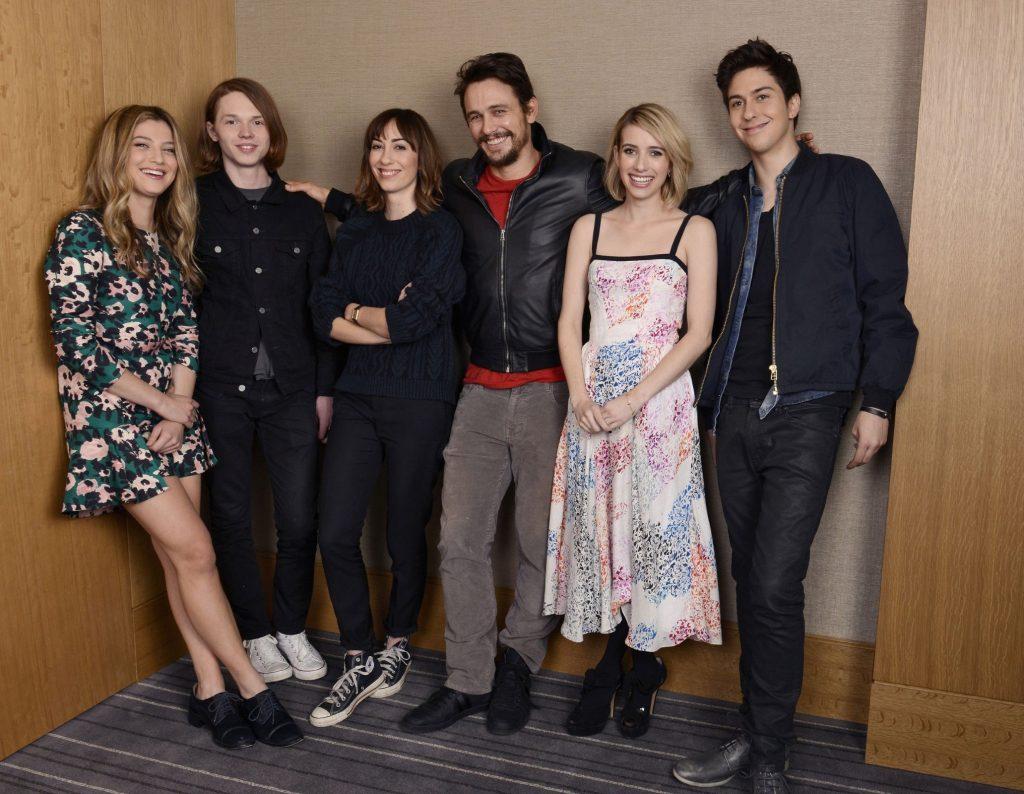 The cast of Palo Alto