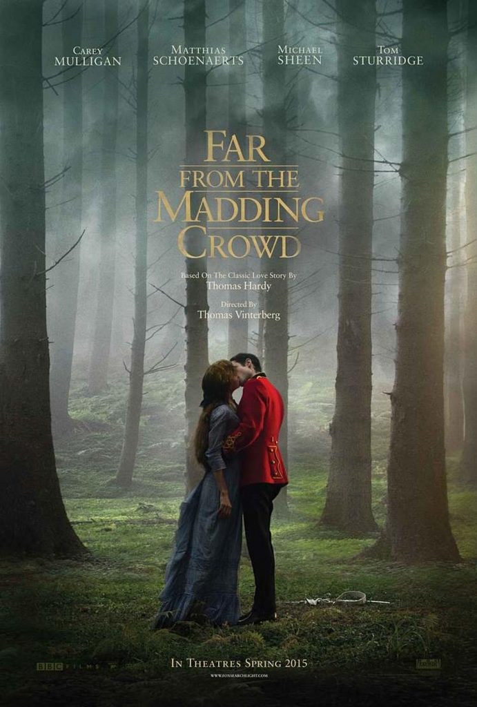 Carey Mulligan and Tom Sturridge in Far From the Madding Crowd.