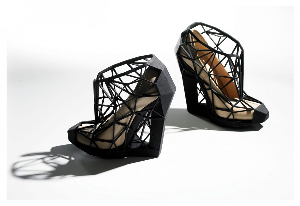 Shoes: Pleasure and Pain, 'InvisibleNakedVersion 2011, Andreia Chaves, photography by Andrew Bradley.