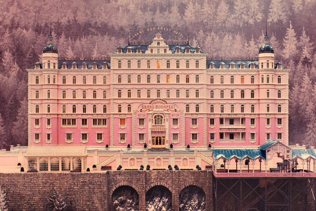 Best Cinematography nominee, The Grand Budapest Hotel
