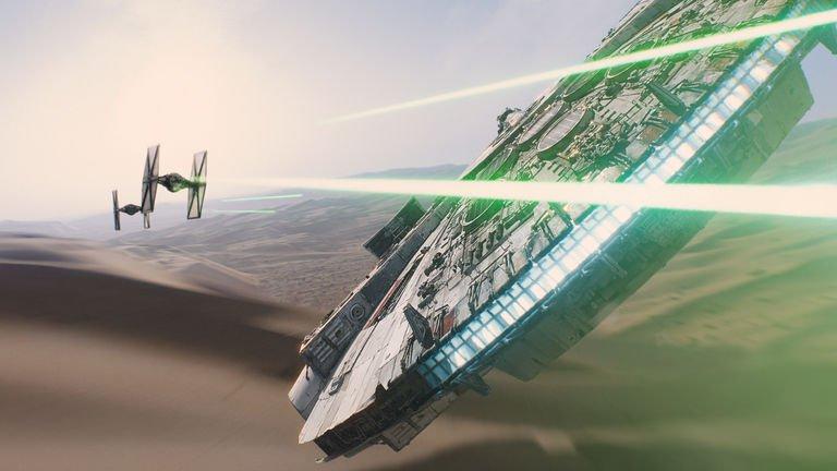 Trailer. Star Wars: The Force Awakens.