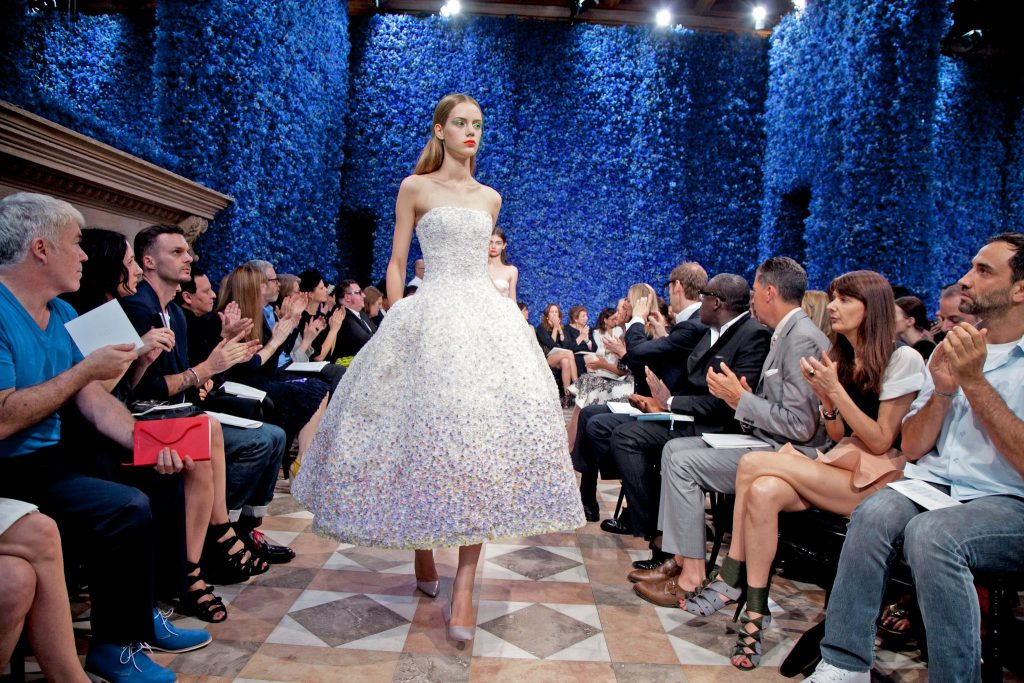 The debut Haute Couture Autumn/Winter 2012 Dior collection from Raf Simons
