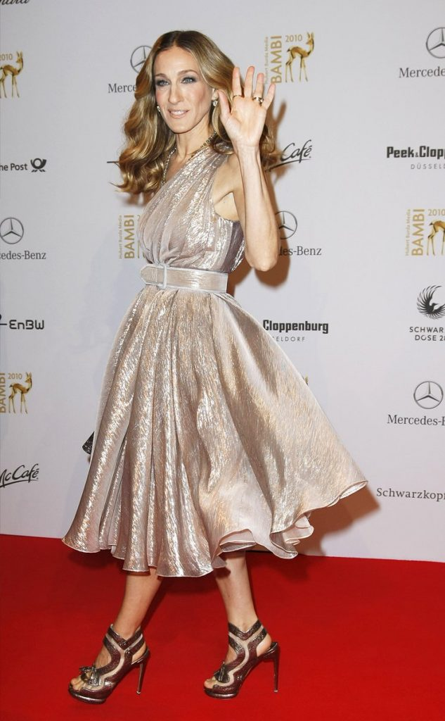 At the Bambi Awards 2010, Germany, Image Courtesy of Getty