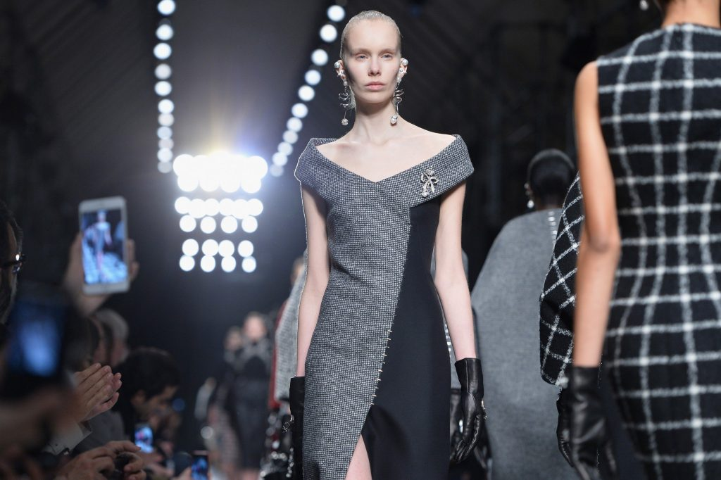 Alexander Wang introduces pseudo couture to Balenciaga