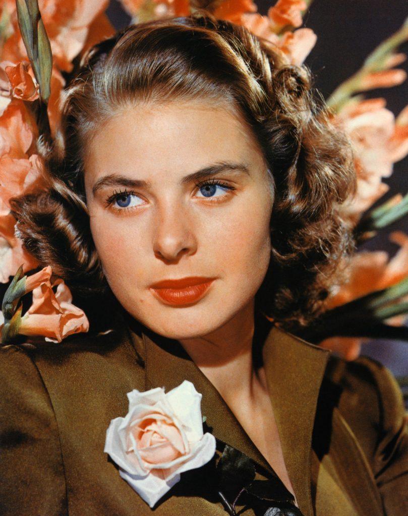 Ingrid Bergmen photographed in the mid-1940s, Image Courtesy of CinemaPhoto, Corbis