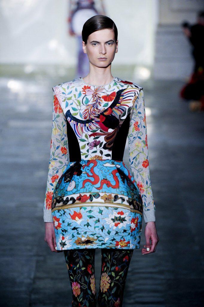 Hyper-realistic craft from Mary Katrantzou, Autumn/Winter 2011