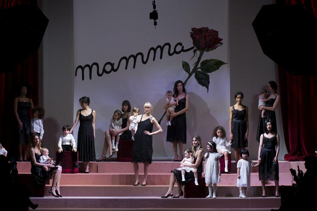 Viva Mamma! (Photo courtesy of GoRunway)