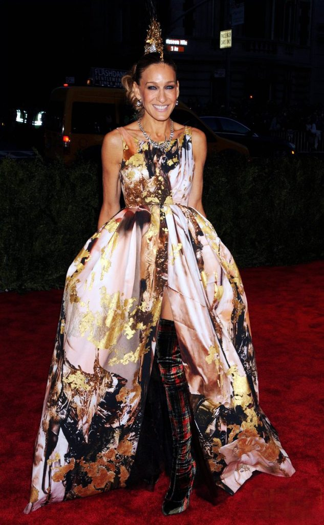 On the Met Ball 2013 red carpet, Image Courtesy of Getty