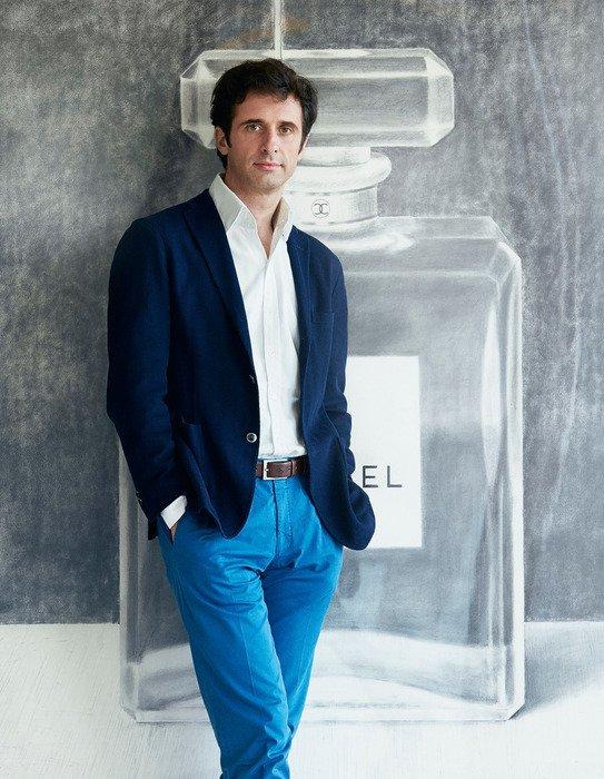 Chanel's house perfumer, Olivier Polge