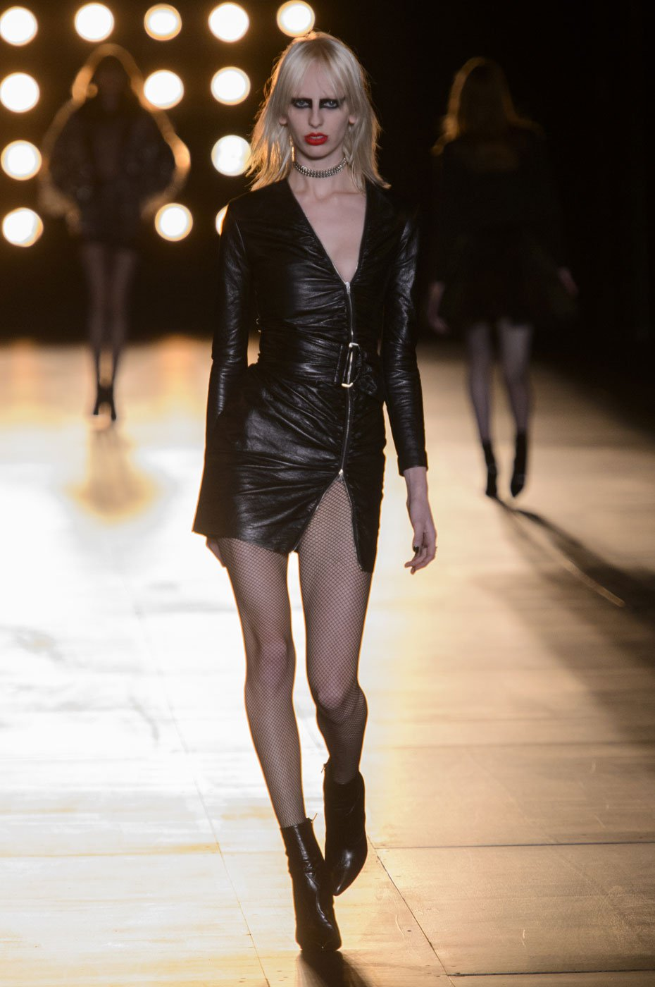 Pfw Saint Laurent S Ode To Rock Mojeh
