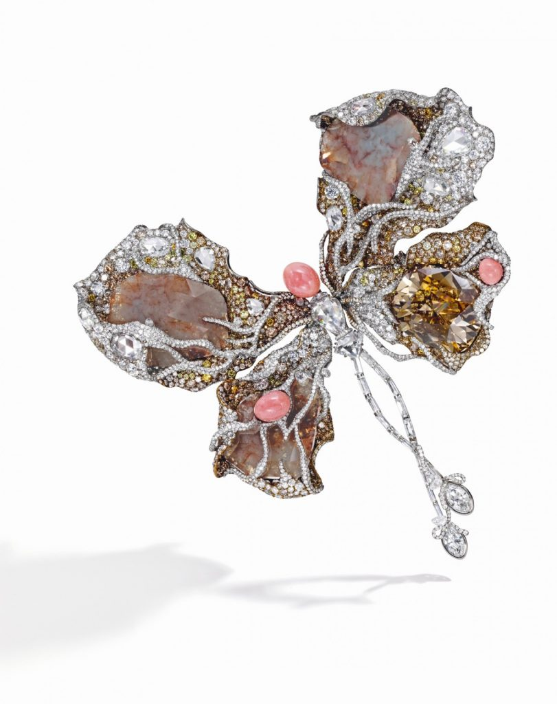 Madame Butterfly Brooch.
