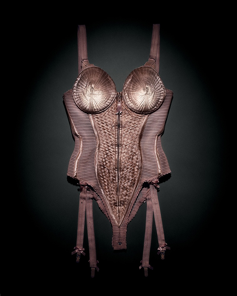The famous conical corset worn by Madonna in 1990