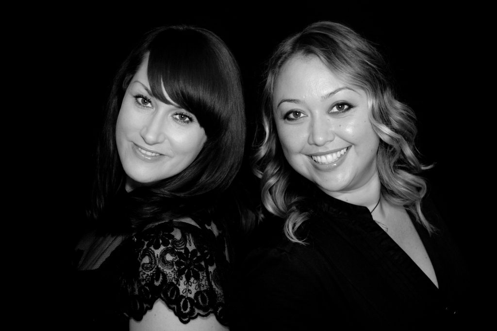 Kelly Cyndrowski and Sharon Anderson, co-owners of Salon Ink