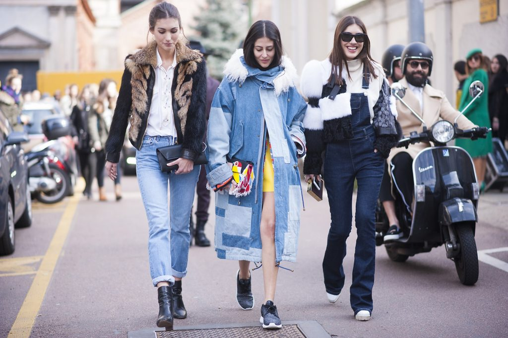 Street style at Paris Fashion Week, autumn/winter 16. Photo courtesy of GoRunway.