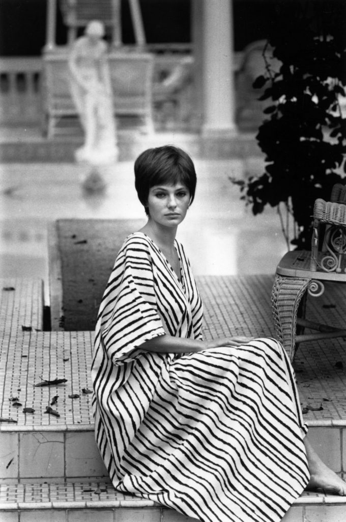 Model and actress Jacqueline Bisset in 1968. Photography by Harry Benson/Getty Images.