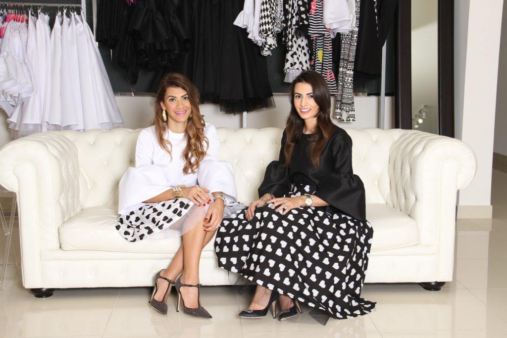 Rima and Dina, Dinz Clothing.