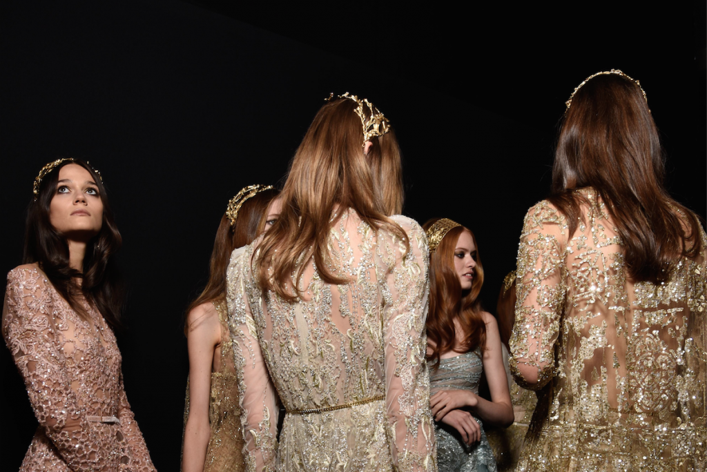 Elie Saab Haute Couture AW15 Backstage