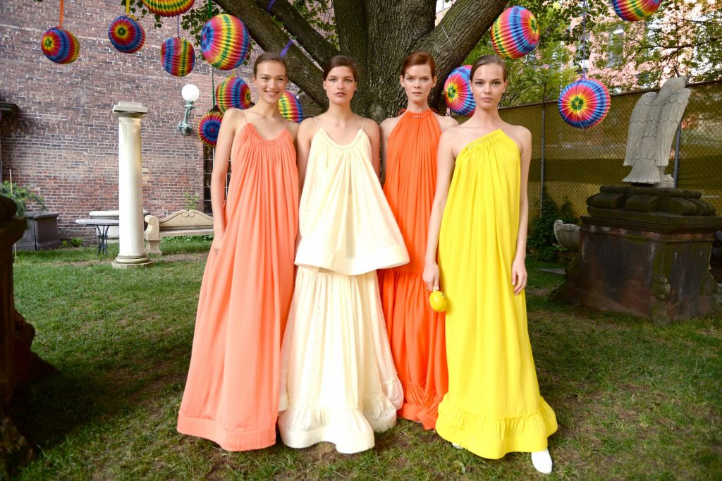 Cruise 2016 collection, by animal rights activist Stella McCartney