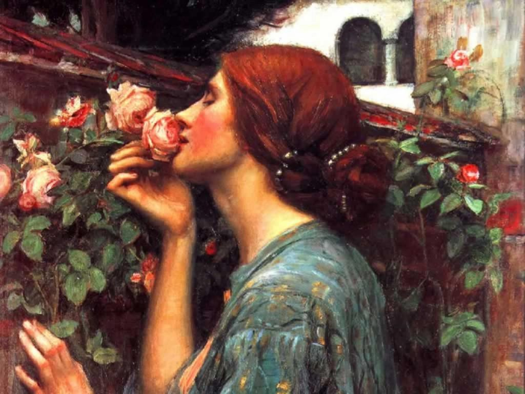 The Soul Of The Rose, John William Waterhouse,1908