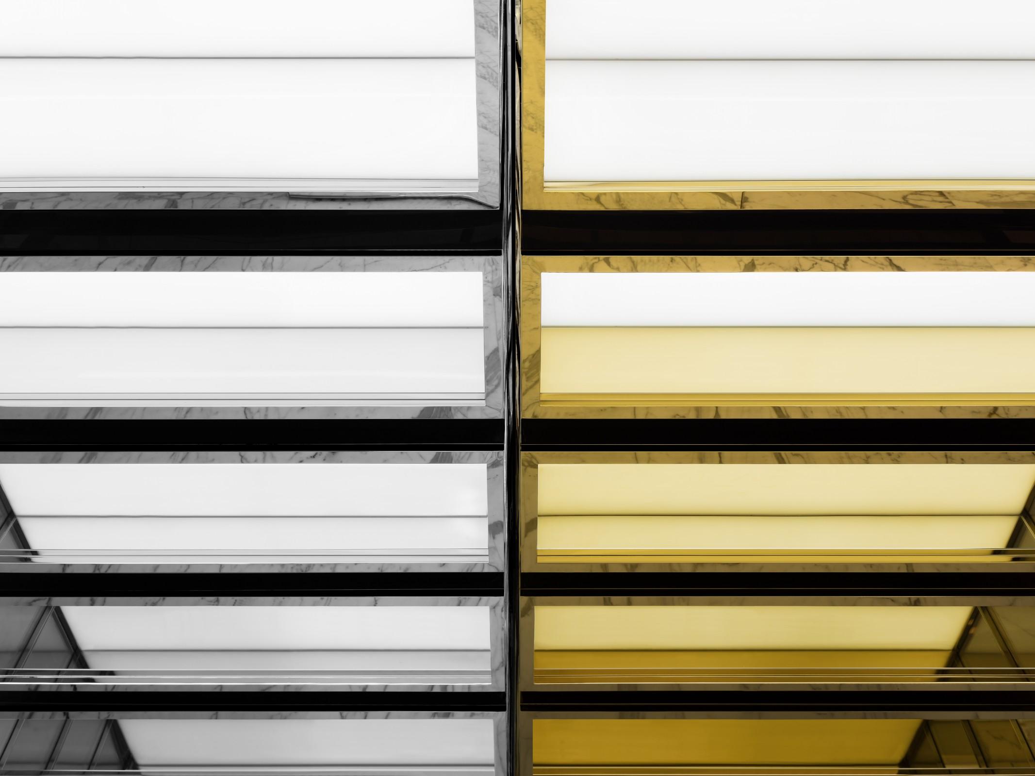 30da69b692ce6 Hedi Slimane s conceptual design for Saint Laurent store
