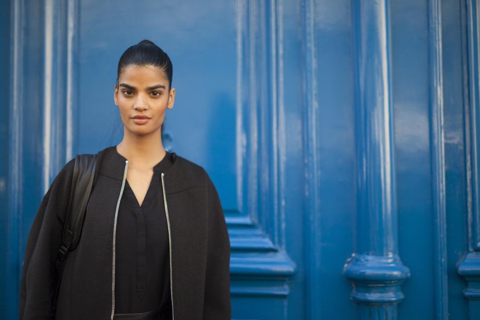 Bhumika Arora in Milan during Fashion Week spring/summer 2016