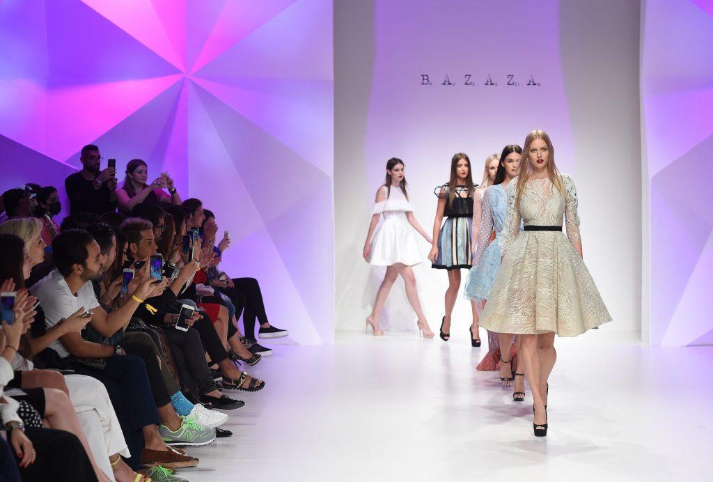 Hussein Bazaza's S/S 2016 show at Fashion Forward