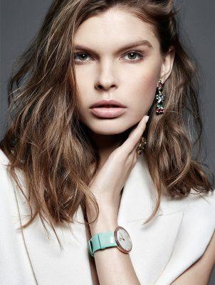 Granville earrings and ring, DIOR HIGH JEWELLERY | La D De Dior Granville watch, DIOR TIMEPIECES