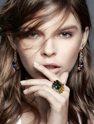 Granville earrings and ring, DIOR HIGH JEWELLERY