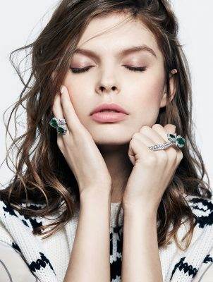 Caprice ring and bracelet, DIOR HIGH JEWELLERY