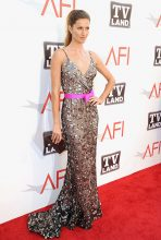 Gisele wore a beautiful Oscar de la Renta Pre-Fall 2011 gown to the 39th AFI Life Achievement Award in 2011.