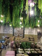 Where: Omnia Gourmet, Jumeirah Fishing Village | Best for:  Celebrity Chef Status | Highlights: This opulently decorated café was the first Dubai outpost for celebrity chef, Silvena Rowe. The menu is almost entirely locally sourced and gluten-free and includes both raw and sugar-free options
