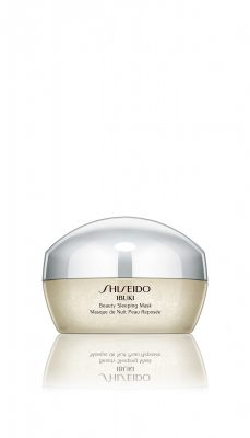 Shiseido's Ibuki Sleeping Mask contains vitamins C and E to help overcome tired skin and is even violet-scented to help induce relaxation