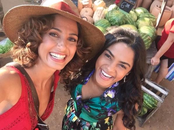 Camila Pitanga is known for her career as a telenovela actress and position as a UN Women Ambassador. Instagram @Caiapitanga