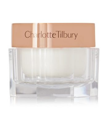 Charlotte Tilbury's Magic Cream rehydrates dull, stressed and fatigued skin and combines Vitamin E, Rosehip and Camelia oils to leave the skin hydrated and dewy.