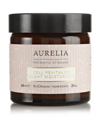 The Cell Revitalise Day Moisturiser by Aurelia Probiotic Skincare is infused with a number of oils rich in fatty acids and uses probiotic technology to boost the skin's defences against pollution and stress.