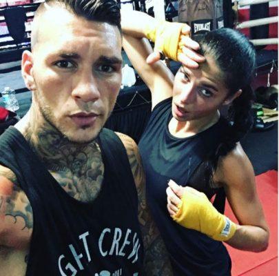 Adriana Lima's workouts revolve around boxing and kickboxing.
