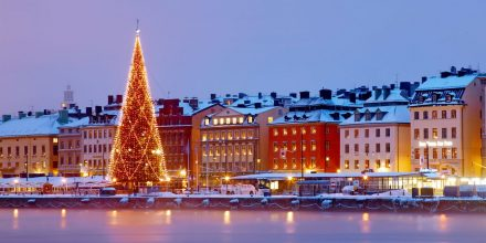 Stockholm, Sweden. A real treat for the senses – Get into the holiday spirit and taste local Swedish delicacies from one of the many Hötorget vendors in the city's market halls or picturesque waterways. Until 22nd December 201