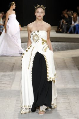 Haute Couture: From Beyonce's nearly-nude Met Gala gown to Kim Kardashian's wedding dress, Givenchy couture comes with legions of supporters from Hollywood to the high fashion set  Givenchy Haute Couture Autumn/Winter1