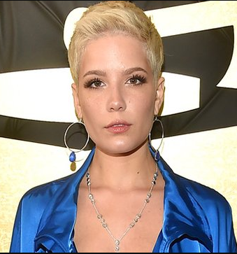 Halsey. While we aren't celebrating Halsey's choice of outfit for the occasion, the singer's cropped boy-cut and minimalist makeup is certainly thought provoking. From no makeup to women's marches, this is the time to embrace womanhood sans convention. Halsey's glowing complexion was offset by a neutral lipstick, which made us think of Bobby Brown's first lipstick formula in neutral beige that retains moisture while staying matte