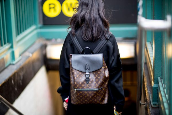Embrace the backpack. Both chic and practical, high fashion interpretations of this humble style are effortlessly cool.