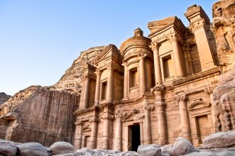 Avoid the regions closest to Syria and Iraq, but otherwise Jordan is a wondrous country that'll take your breath away. Petra, one of the new Seven Wonders of the World, will leave you in awe and most people speak English, making it a comfortable destination for new solo travellers.